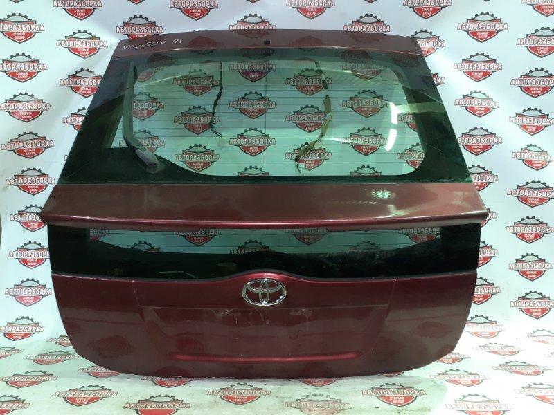 Дверь багажника Toyota Prius NHW20 1NZ-FXE 2010 задняя (б/у)
