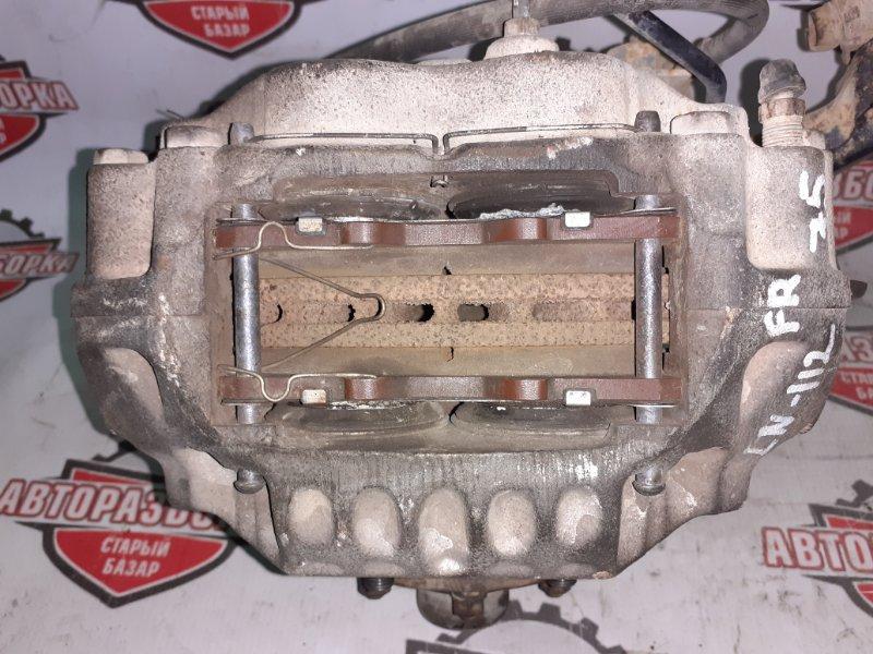 Суппорт тормозной Toyota Hilux Pick Up LN112 2L-TE 1995 передний правый (б/у)