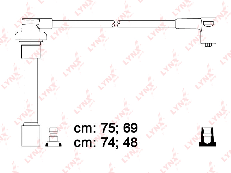Высоковольтные провода Honda Hr-V GH1 D13B7