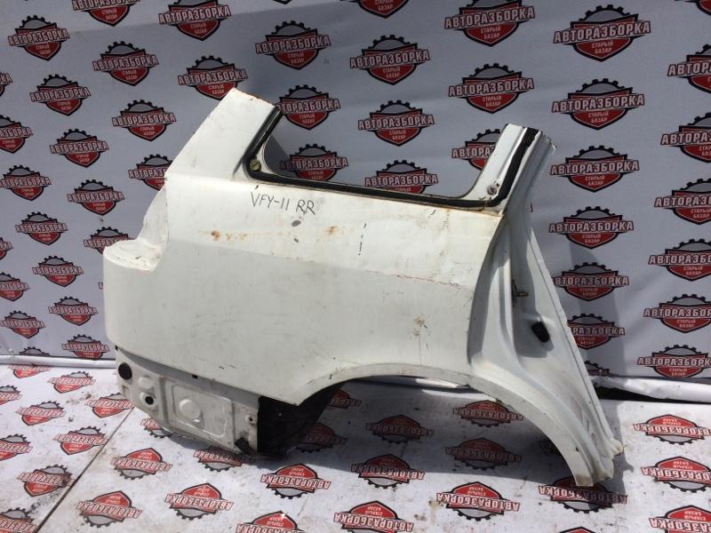 Крыло Nissan Ad VFY11 QG15DE 2003 заднее правое (б/у)