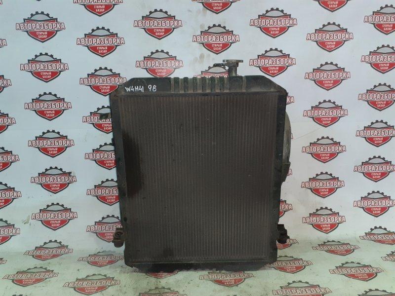 Радиатор охлаждения двигателя Nissan Atlas W4H41 BD30 1992 (б/у)