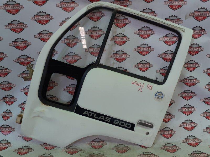 Дверь Nissan Atlas W4H41 BD30 1992 передняя левая (б/у)