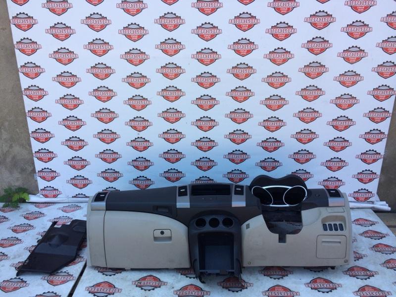 Панель приборов Mitsubishi Outlander CW5W 4B12 2006 (б/у)