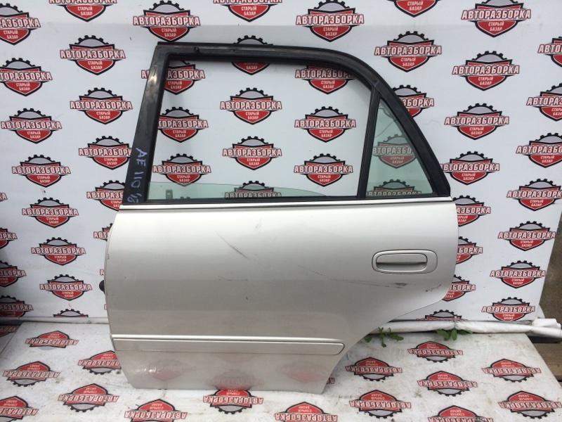 Дверь Toyota Corolla AE110 5A-FE 1997 задняя левая (б/у)