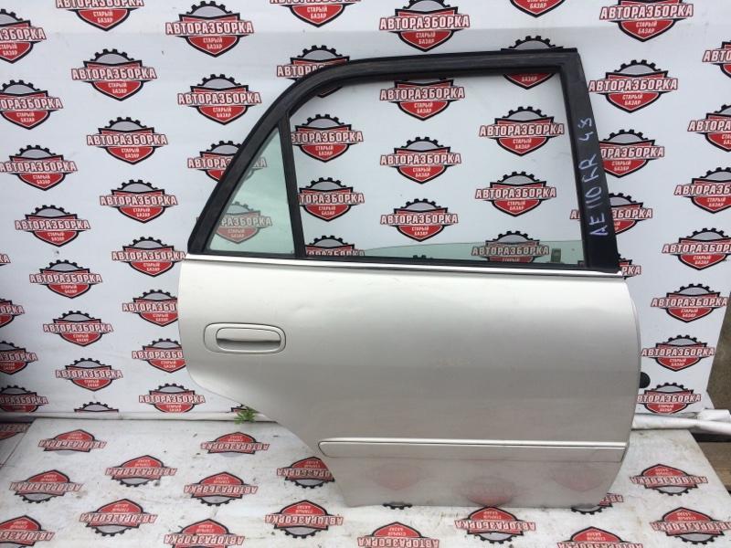 Дверь Toyota Corolla AE110 5A-FE 1997 задняя правая (б/у)