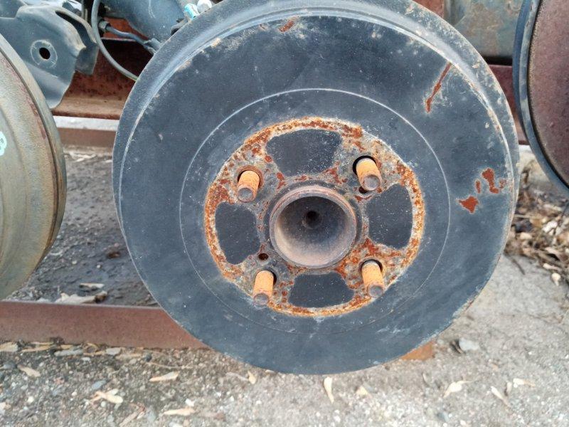Ступица Toyota Ractis SCP100 2SZFE задняя правая (б/у)