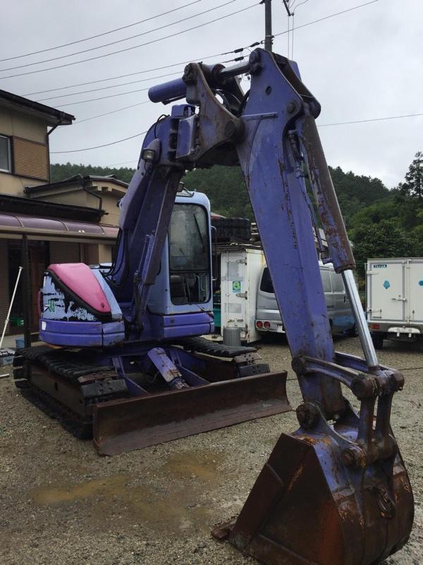 Экскаватор Komatsu Pc75Uu-3 4D102E 1999 (б/у)