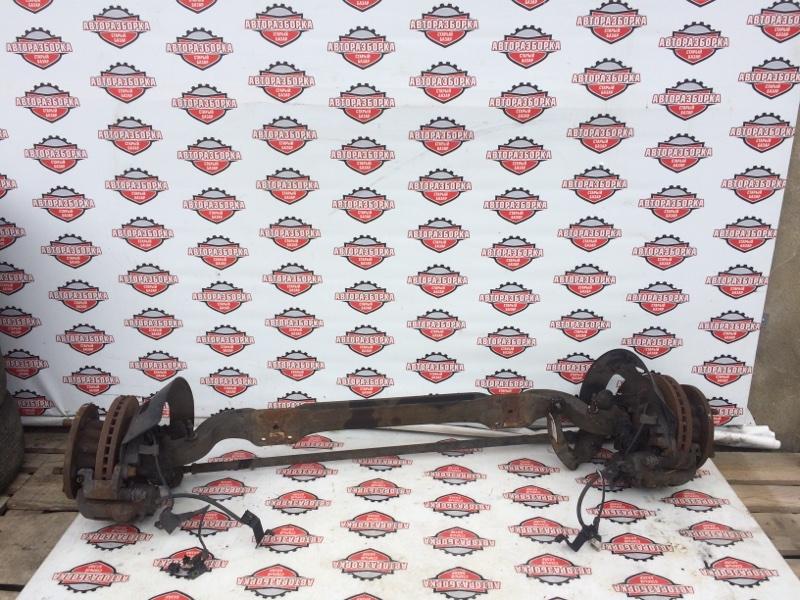 Балка подвески Isuzu Elf NKR81 4HL 2005 передняя (б/у)