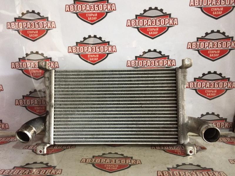 Радиатор интеркулера Mitsubishi Fuso FEB50 4P10 2012 (б/у)