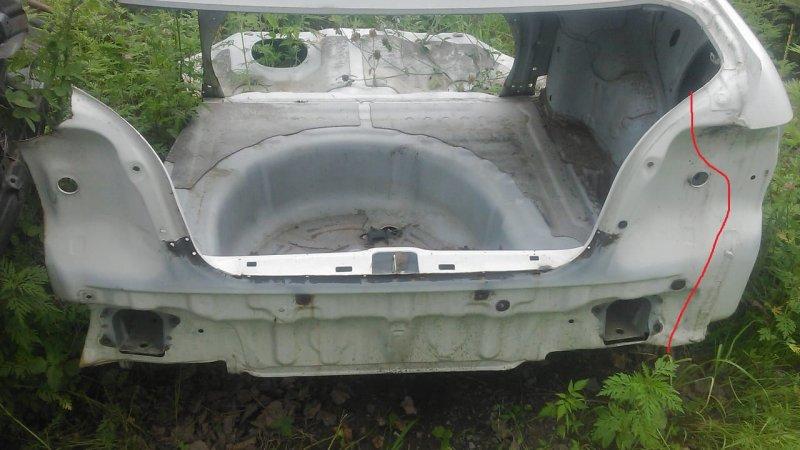Ванна под запаску Toyota Corolla AE110 5A-FE 1996 (б/у)