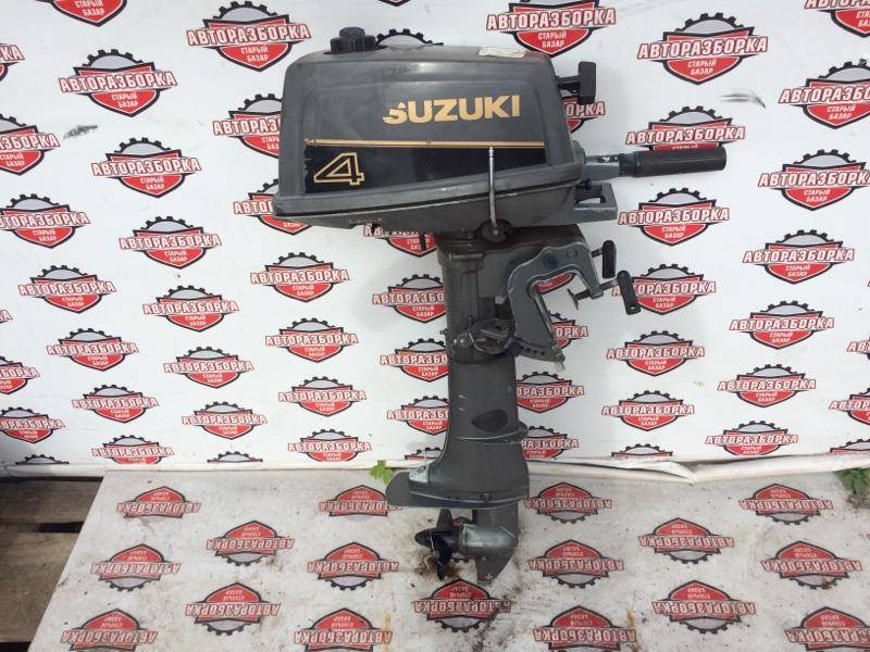 Мотор лодочный Suzuki 4 (б/у)