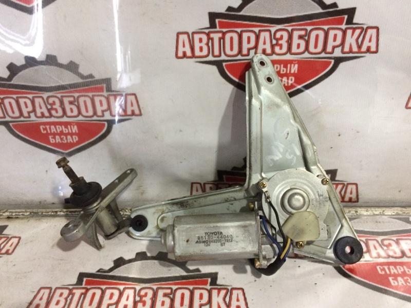 Мотор дворников Toyota Nadia SXM15 3SFE задний (б/у)