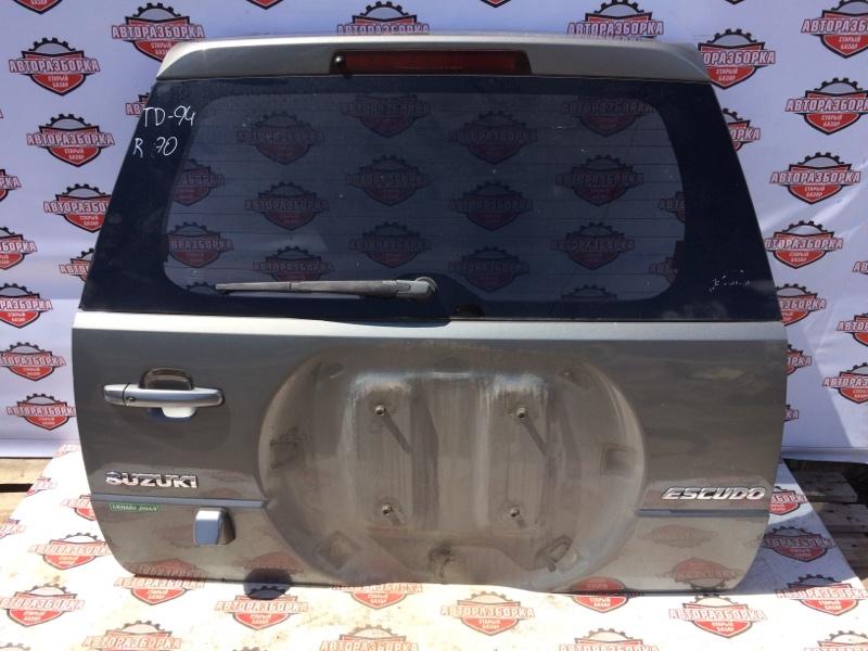 Дверь багажника Suzuki Escudo TD94W H27A 2005 задняя (б/у)