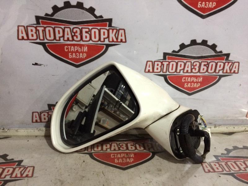 Зеркало Honda Stream RN8 R20A 2006 левое (б/у)