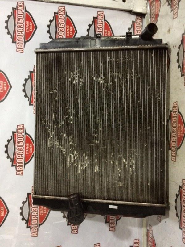 Радиатор охлаждения двигателя Toyota Dyna BU306 4B 2003 (б/у)