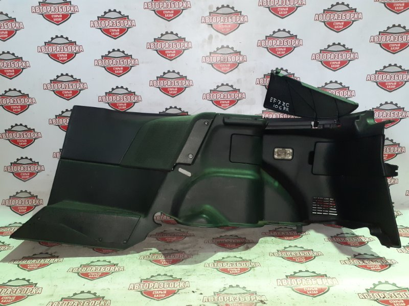Обшивка багажника Honda Cr-X EF7 ZC 1990 задняя правая (б/у)