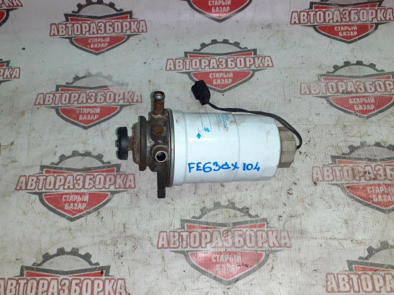 Насос топливный ручной подкачки Mitsubishi Canter FE63CX 4M51 2000 (б/у)