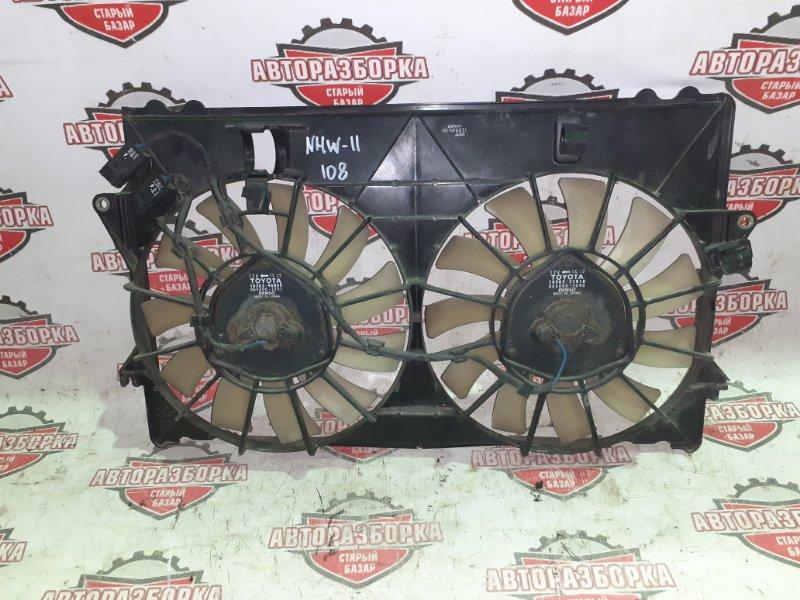 Диффузор радиатора основного Toyota Prius NHW11 1NZ-FXE 2000 (б/у)