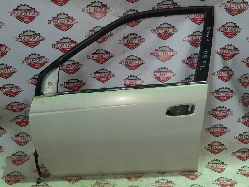 Дверь Toyota Prius NHW11 1NZ-FXE 2000 передняя левая (б/у)
