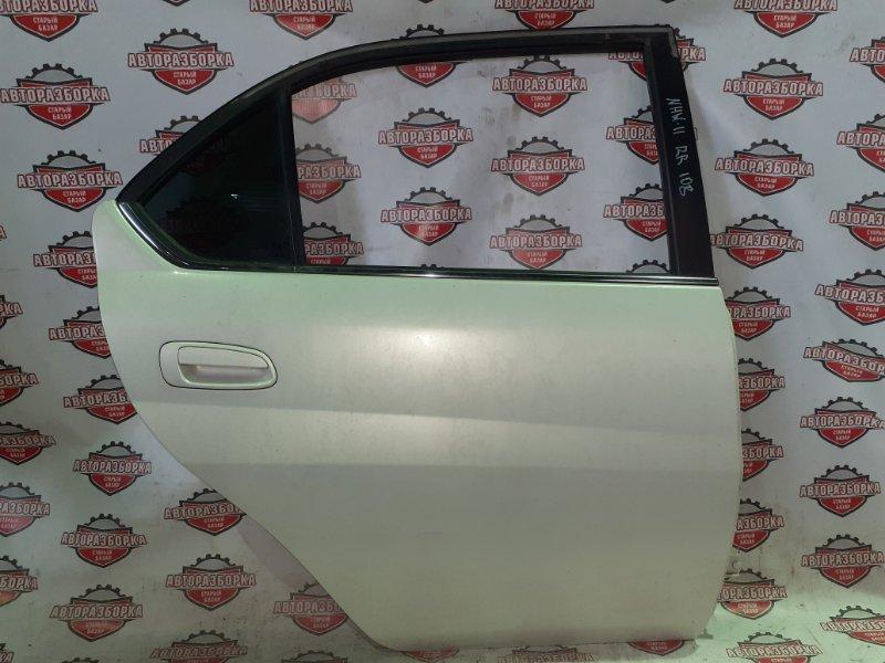 Дверь Toyota Prius NHW11 1NZ-FXE 2000 задняя правая (б/у)