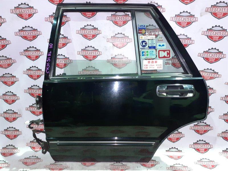 Дверь Nissan Cedric CMJY31 RB20(P) 2001 задняя левая (б/у)