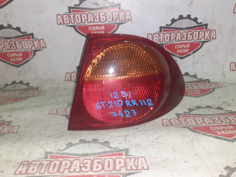 Фонарь задний Toyota Caldina ST210 3S-FE 1999 задний правый (б/у)