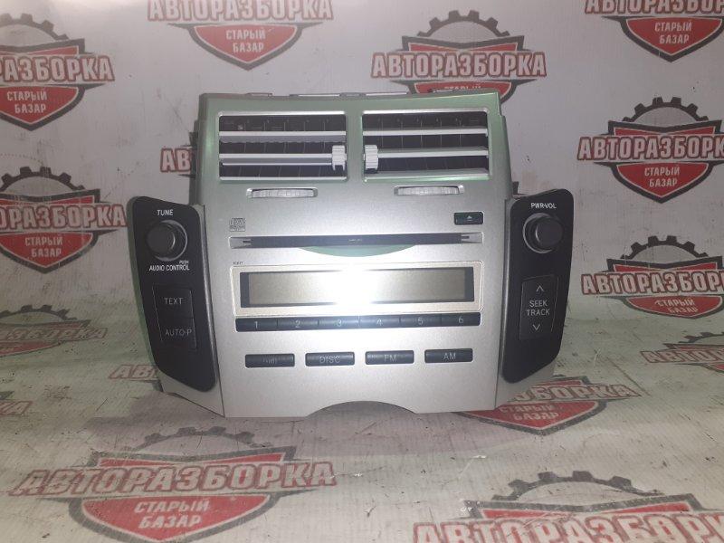 Магнитофон Toyota Vitz KSP90 1KR-FE 2008 (б/у)
