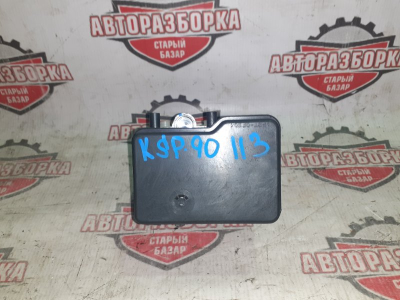 Блок abs Toyota Vitz KSP90 1KR-FE 2008 (б/у)