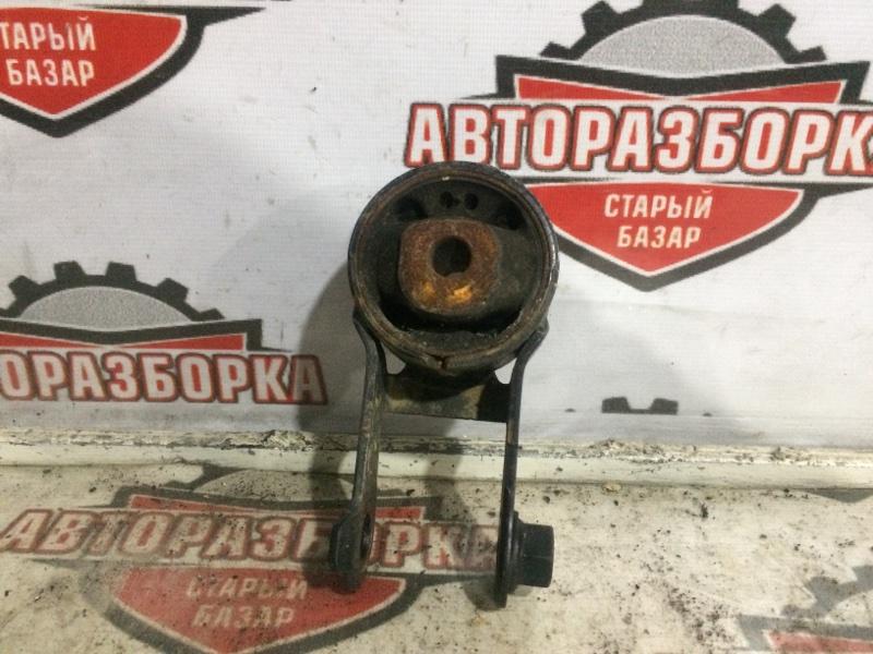 Подушка коробки передач Toyota Vitz NSP130 1NRFE 2011 задняя (б/у)