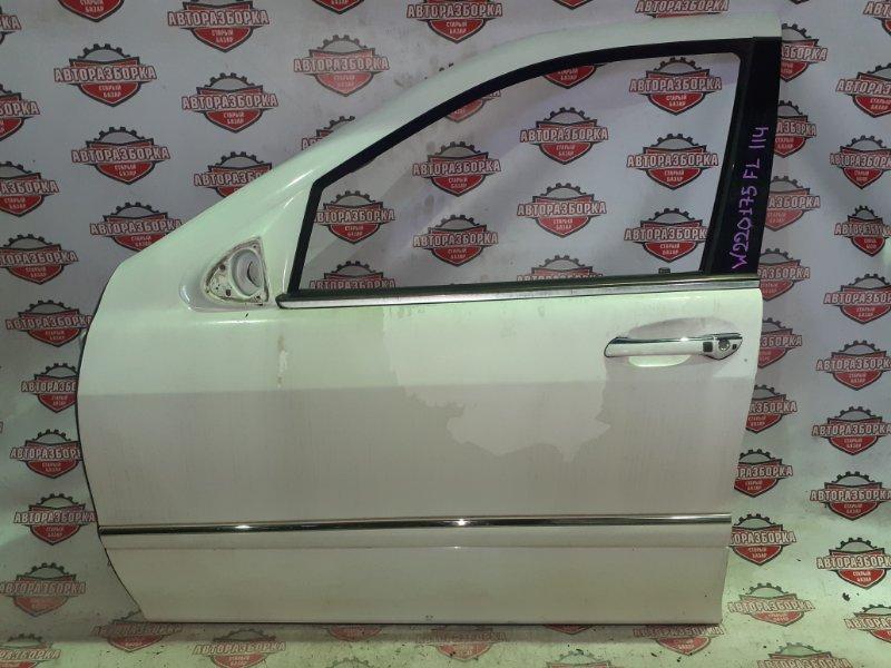 Дверь Mercedes-Benz S-Class W220 M113E50 04.2000 передняя левая (б/у)