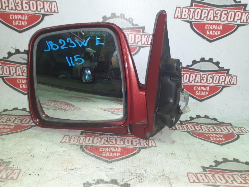 Зеркало Suzuki Jimny JB23W K6A 2001 переднее левое (б/у)