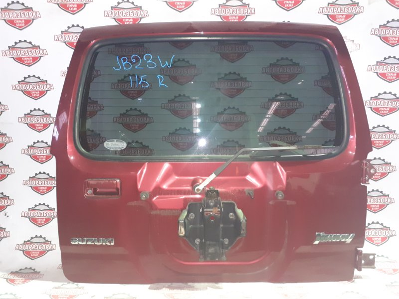 Дверь Suzuki Jimny JB23W K6A 2001 задняя (б/у)