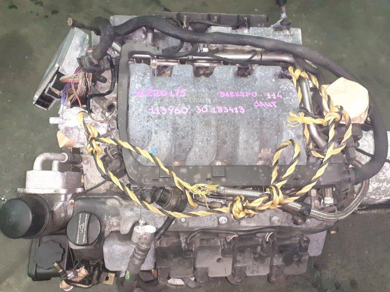 Двигатель в сборе Mercedes-Benz S-Class W220 M113E50 04.2000 (б/у)