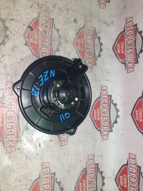 Мотор печки Toyota Corolla Runx NZE121 1NZ-FE 2001 (б/у)