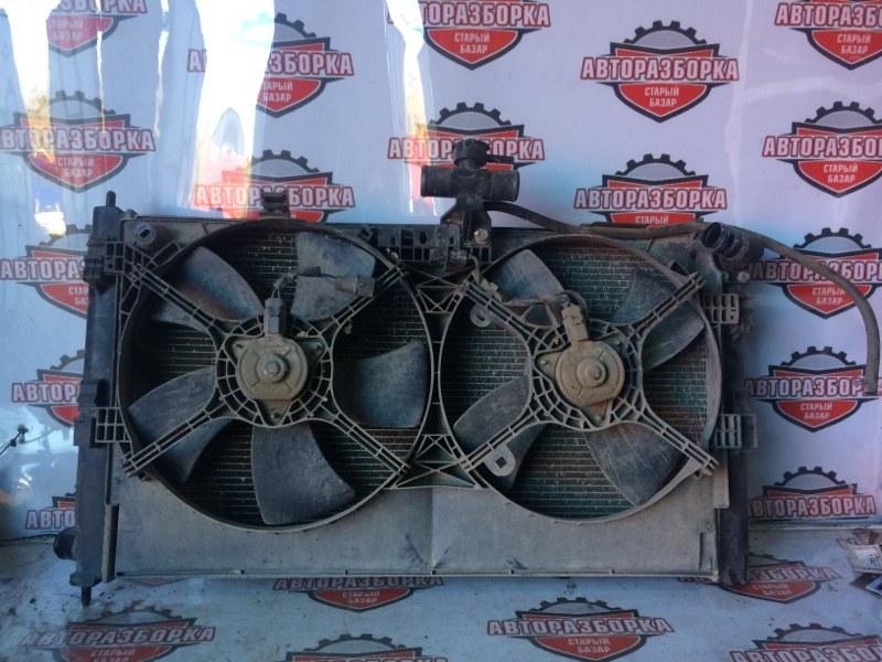 Радиатор охлаждения двигателя Mitsubishi Outlander CW5W 4B12 2006 (б/у)