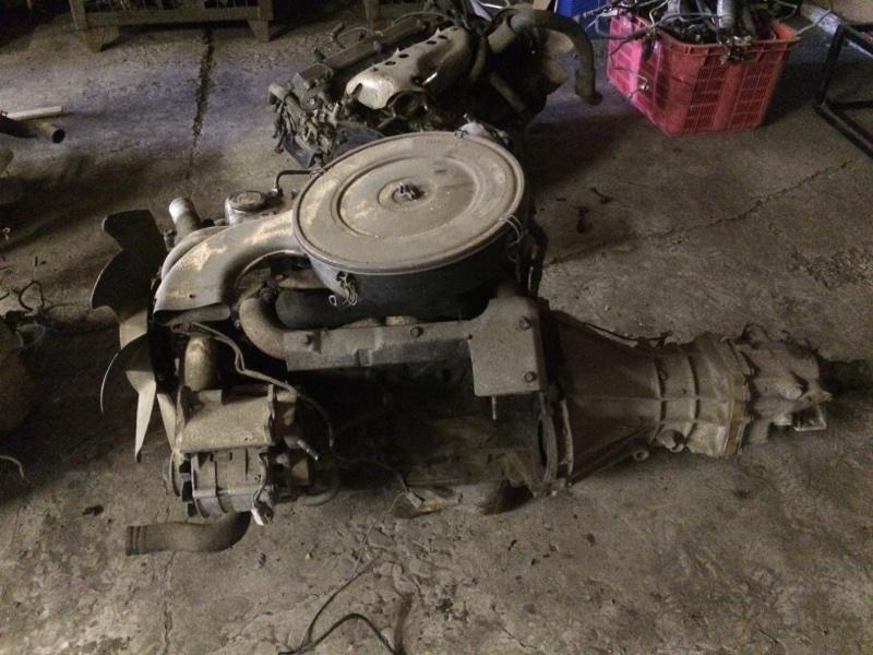 Двигатель Nissan Datsun Truck AG720 SD23 1985 (б/у)