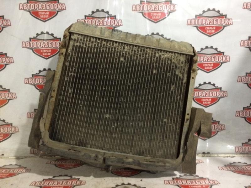 Радиатор охлаждения двигателя Toyota Dyna BU87 14B 1992 (б/у)