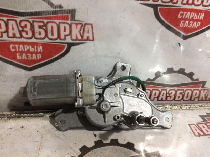 Мотор дворников Toyota Ractis SCP100 2SZFE 2007 задний (б/у)