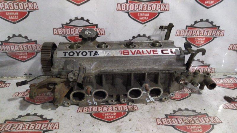 Головка блока цилиндра Toyota Vista SV22 4SFI (б/у)