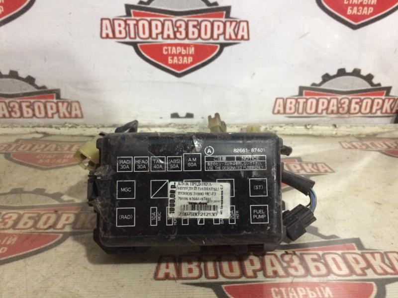 Блок предохранителей Daihatsu Terios J100G HCEJ (б/у)