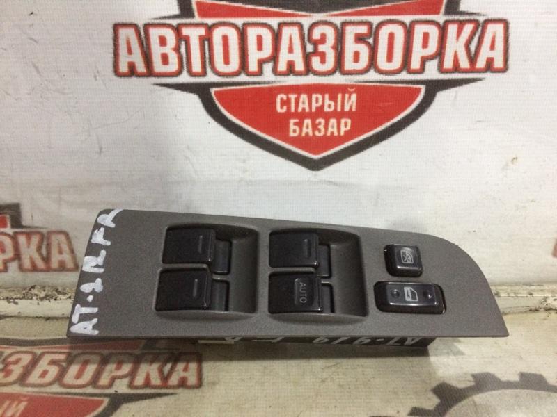 Блок управления стеклоподъемниками Toyota Carina AT212 5A-FE 1999 передний правый (б/у)