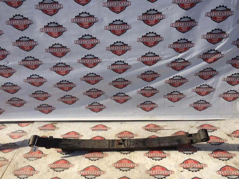 Рессора Nissan Atlas SZ2F24 ZD30DDTI 2008 задняя (б/у)