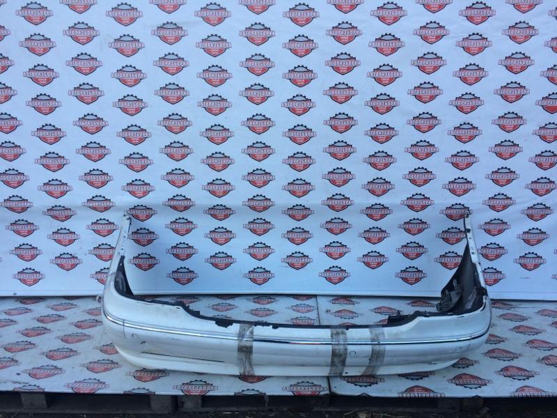 Бампер Mercedes-Benz S-Class W220 M113E50 04.2000 задний (б/у)