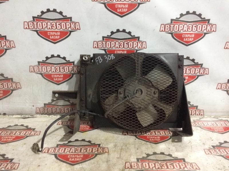 Радиатор кондиционера Mitsubishi Canter FB308B 4DR7 1993 нижний (б/у)