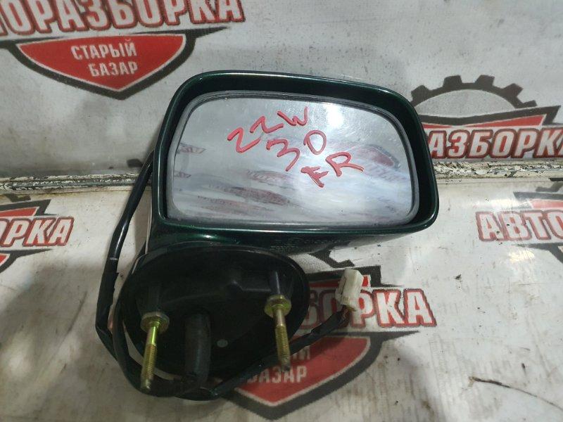 Зеркало Toyota Mr-S ZZW30 1ZZFE 2000 правое (б/у)