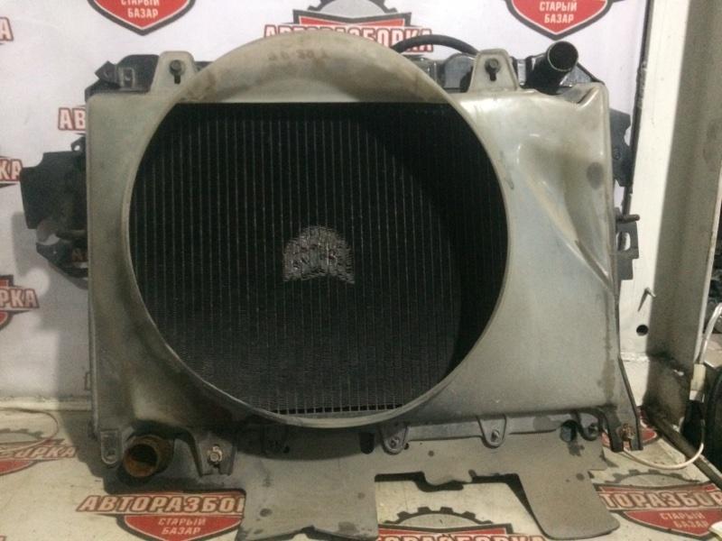 Радиатор охлаждения двигателя Mazda Bongo Brawny Truck SD89T F8 1995 (б/у)