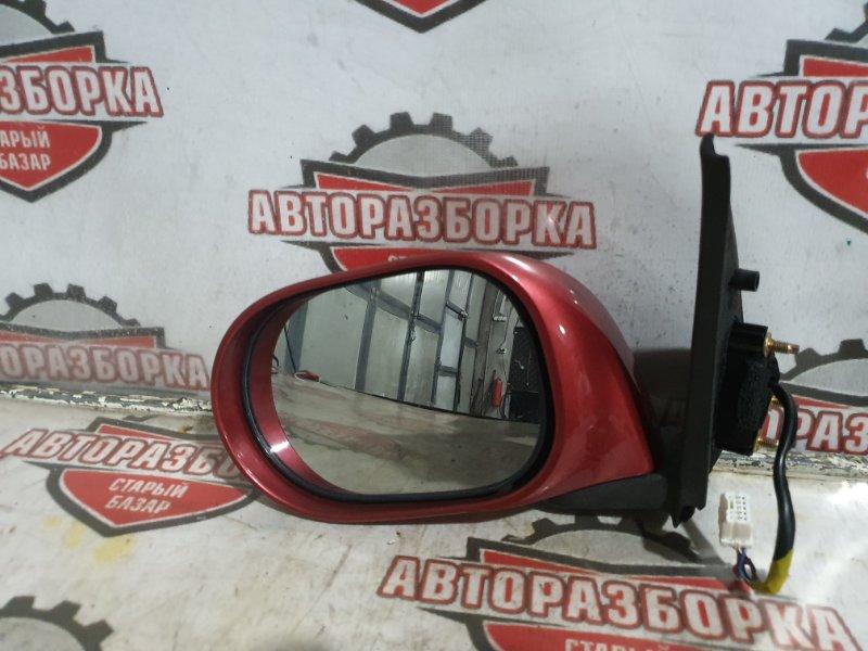 Зеркало Nissan March AK12 CR12(DE) 2004 левое (б/у)