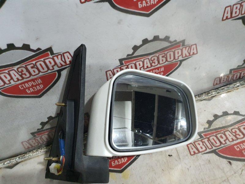 Зеркало Mitsubishi Pajero Io H76W 4G93 2000 правое (б/у)