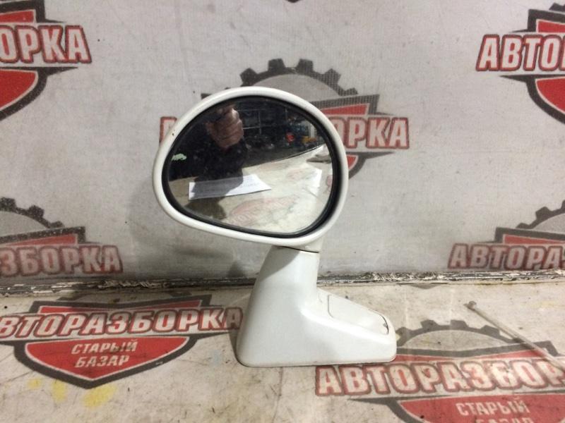 Зеркало на крыло Mitsubishi Pajero Io H76W 4G93 2000 (б/у)