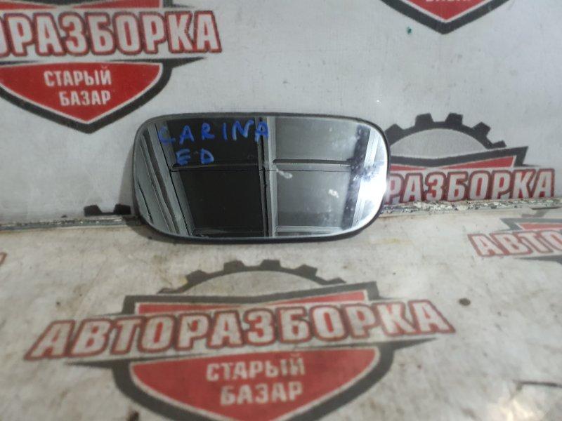 Зеркало-полотно Toyota Carina Ed ST202 левое (б/у)